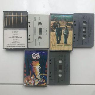 Mark Isham Ost tape lot