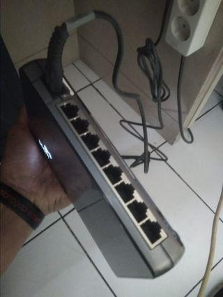 Switch 3com gigabit 8 port