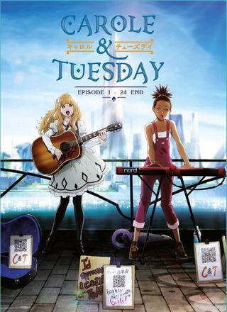 Carole & Tuesday Ep 1-24 End Anime DVD