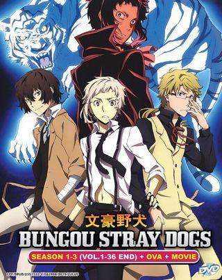 Bungou Stray Dogs Season 1-3 (Vol.1-36 End) + OVA + MOVIE Anime DVD