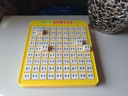 兒童九九乘法學習pad