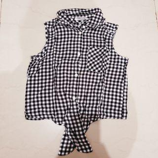 Checkered Top HnM kids
