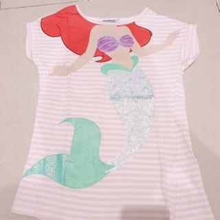 Atasan Mermaid Anak sz 8thn