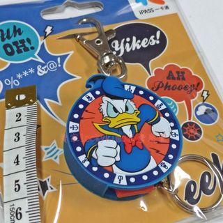 【唐老鴨 Donald Duck 鑰匙圈 可伸縮 一卡通 iPASS 空卡】迪士尼 Disney 愛生氣 水手服 證件套