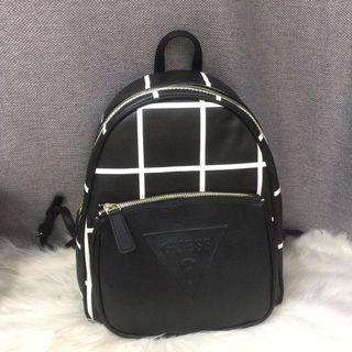 Authentic Guess geo colour block backpack
