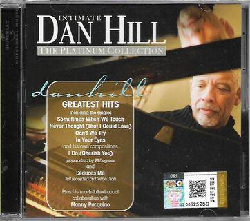 Intimate Dan Hill The Platinum Collection CD