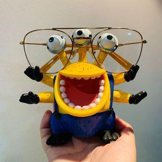全新✨吊牌未拆 美國品牌 NYBK 超大鏡框小臉平光造型眼鏡👓 金框透明鏡片 近視眼鏡 沙發選物購入 時尚穿搭必備