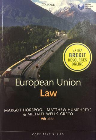 European Union Law Textbook