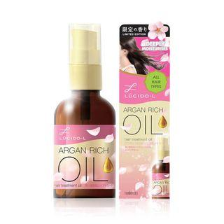(LIMITED EDITION) Lucido-L Hair Treatment Oil *Cherry Blossom*