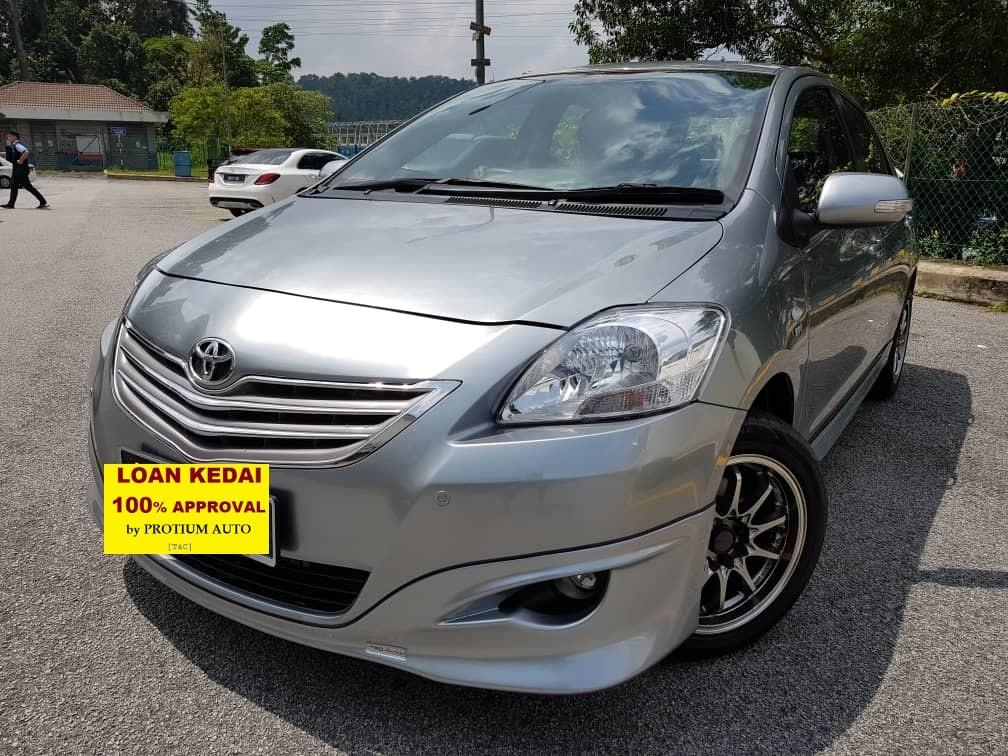 2010 Toyota Vios E-Spec 1.5 (A) Muka 2K Loan Kedai