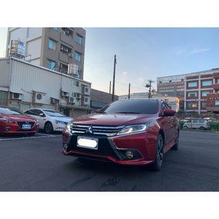 【FB搜尋桃園阿承】三菱 超人氣FORTIS跑1萬 2018年 1.8 紅色 二手車 中古車