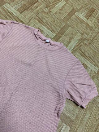 uniqlo髒粉色上衣 #五折清衣櫃