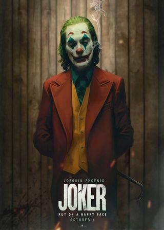(電影海報 買五送一) 小丑 Joker DC 2019 蝙蝠俠 黑暗騎士 正義聯盟 超級英雄 水行俠 超人 神力女超人