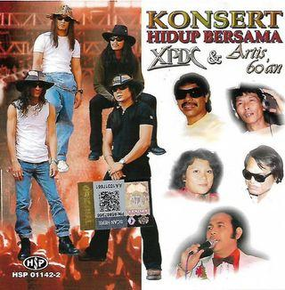 Konsert Hidup Bersama XPDC & Artis 60an A.Halim L.Ramli S. Jibeng M. Osman Azizah Mohd CD