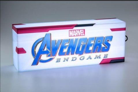 Hot toys marvel endgame light box