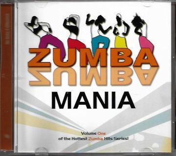Zumba Mania - Vol.1 of The Hottest Zumba Hits Series CD