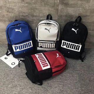 全新現貨puma雙肩包後背包學生書包電腦包旅行包