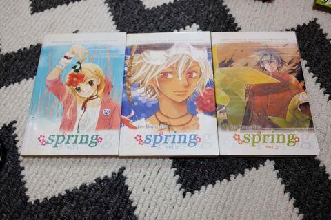 Komik Mini Seri Spring 1-3 END