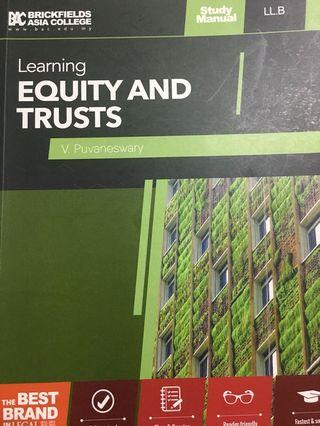 Law of Trusts Textbook