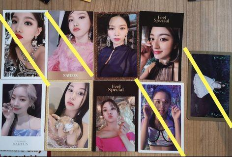 WTT/WTS Twice Feel Special photocards