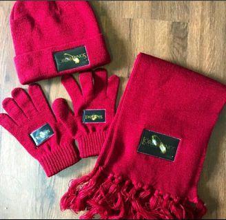 珍藏版 冬季帽子圍巾手套整組組合