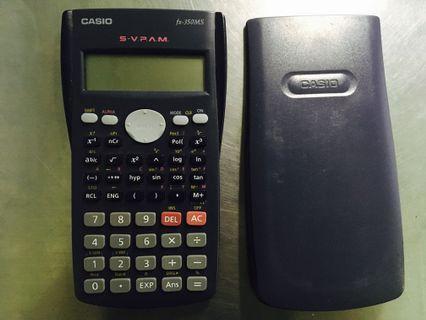 Casio卡西歐 計算機 FX-350MS 工程用計算機 國家考試機型 保存良好