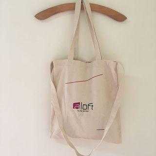 2way 帆布提袋  環保購物袋