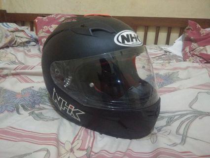 Helm nhk gp1000 hitam doff