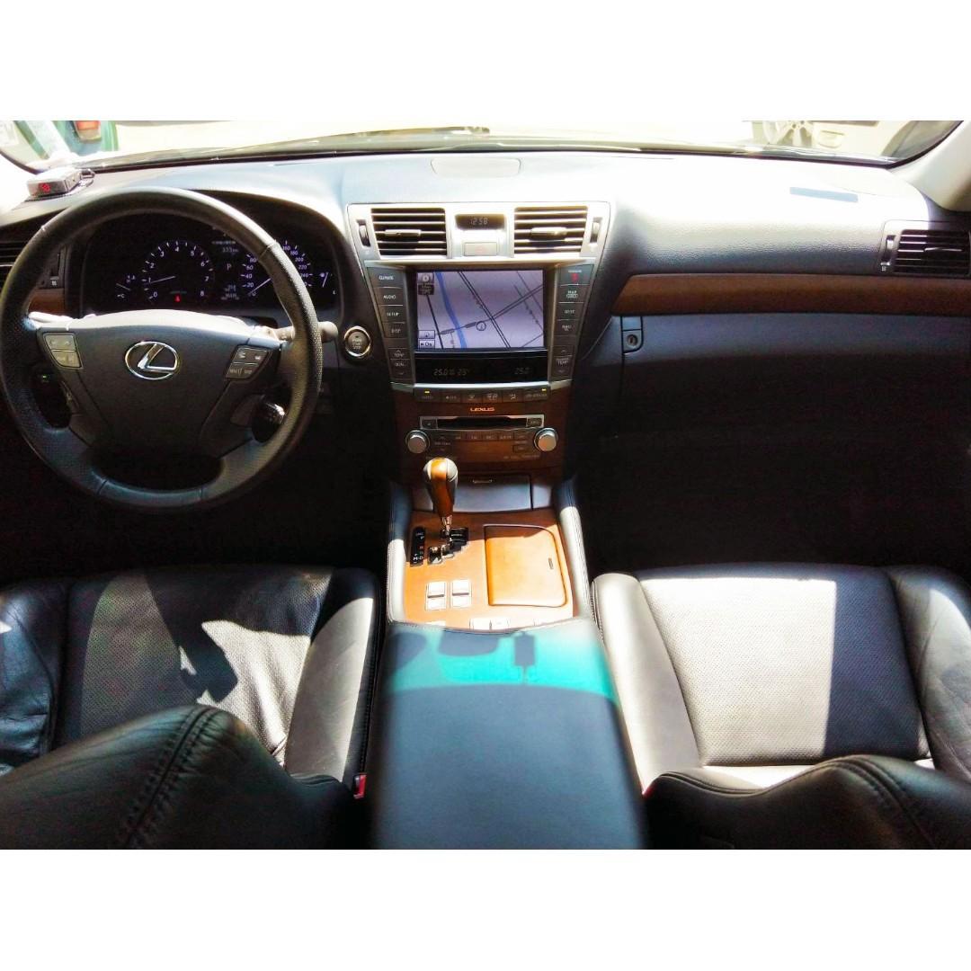 全台限量30台 一手車 全原版件 Lexus LS460 4.6升 V8引擎 新車價391萬 短軸運動版