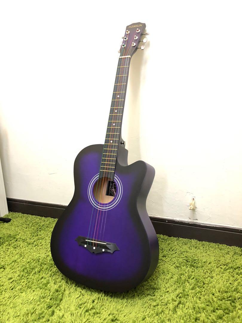 全新38吋 民謠吉他 new guitar