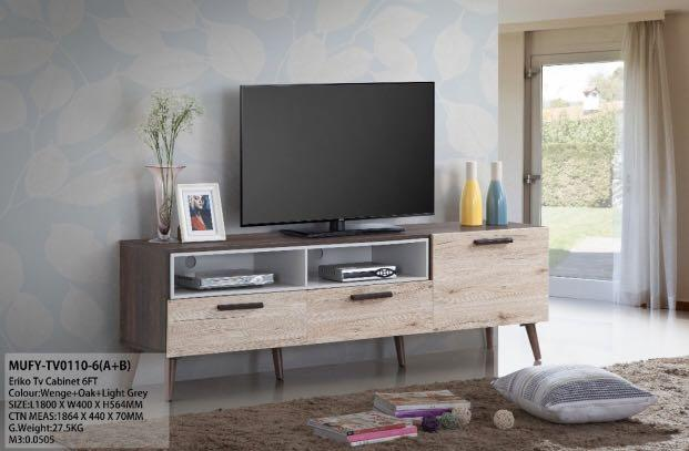 6 ft TV Console