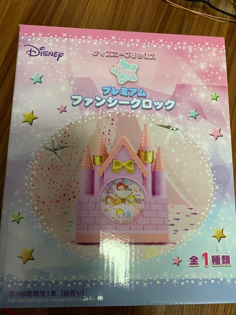 全新公主城堡時鐘,日本直送,可買可換