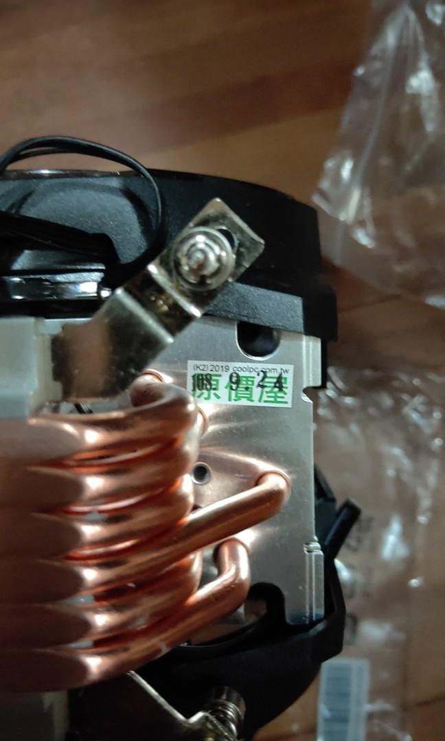 酷瑪 610p rib CPU 散熱風扇