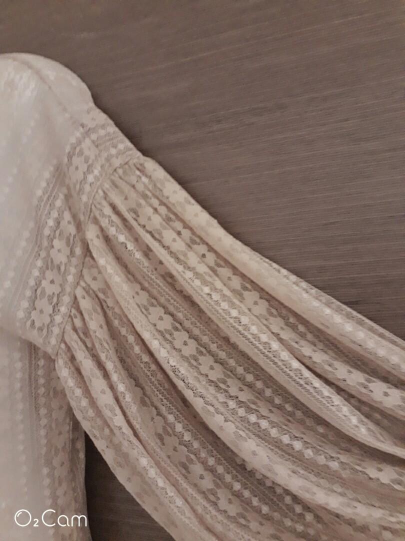 法式 蕾絲罩衫