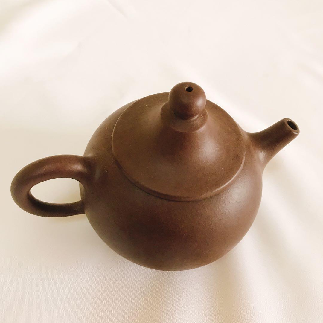 早期 茶壺 紫砂 高頂蓋 泡茶