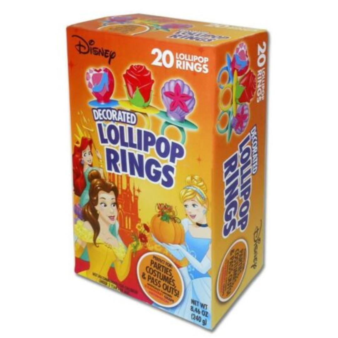 美國直送 Disney 造型介子糖 tricks or treats lollipop rings Halloween birthday party