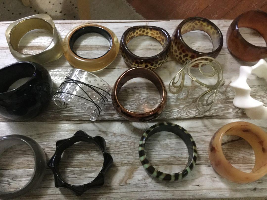 Chunky Retro Bracelets
