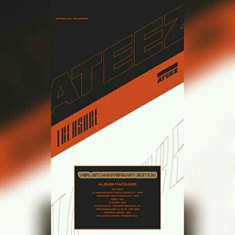 ATEEZ - Album [TREASURE EP.FIN : All To Action] 1st Anniversary Edition ver. (Special Limited Edition)