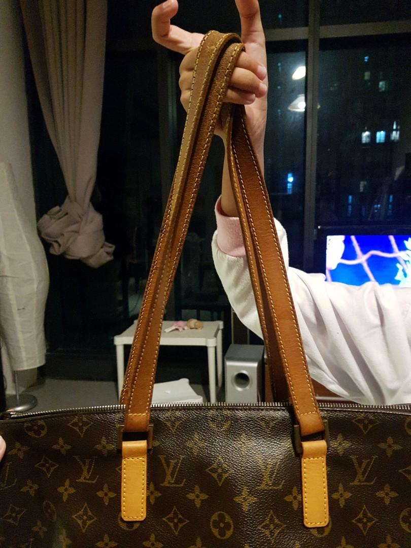 Auth Louis Vuitton Tote Bag Cabas Mezzo