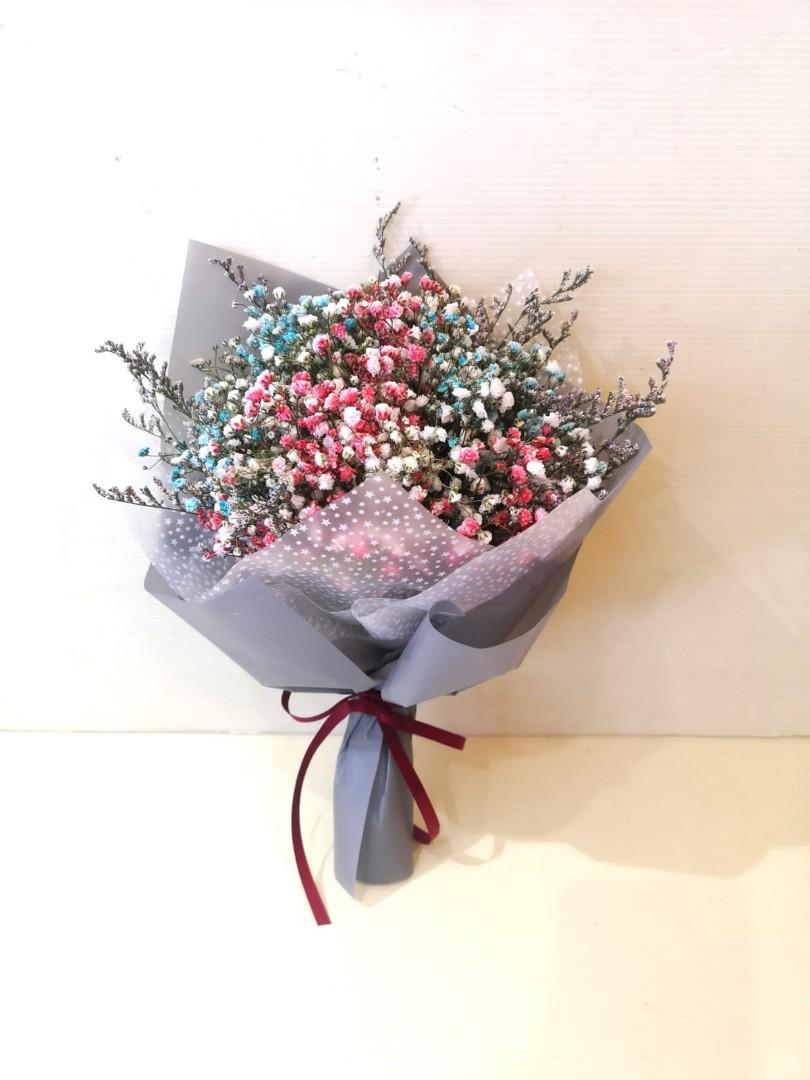 Baby Breath Bouquet (S)