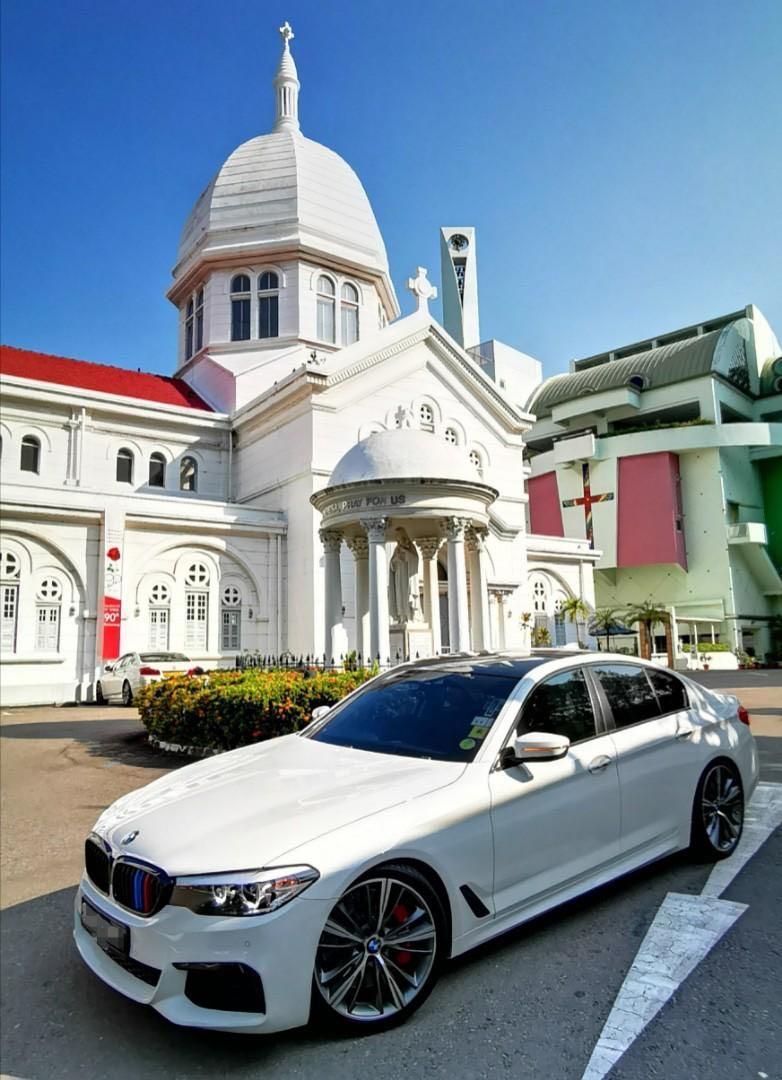 BMW 5 Series Wedding Bridal Car