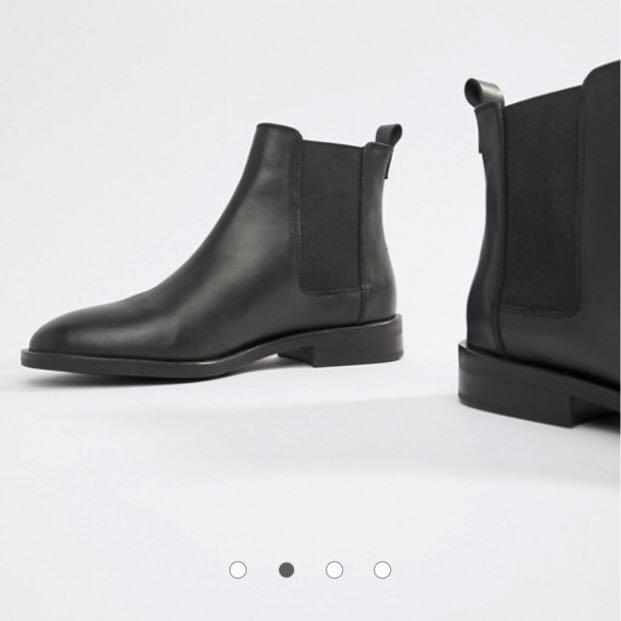 BN ASOS Aura Leather Chelsea Ankle Boot