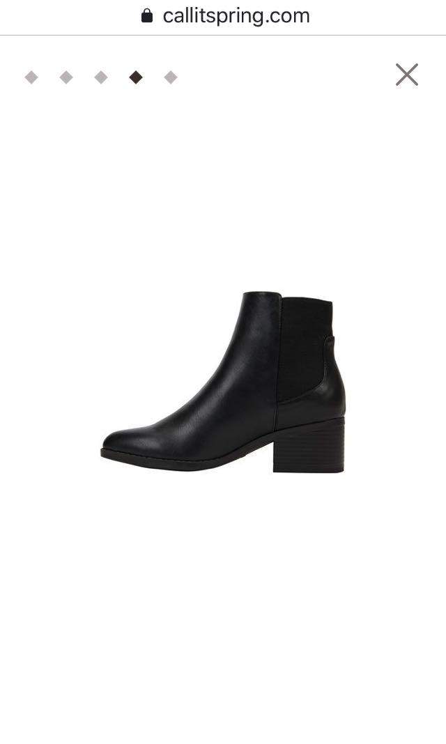 Booties brand new with box size 6.5