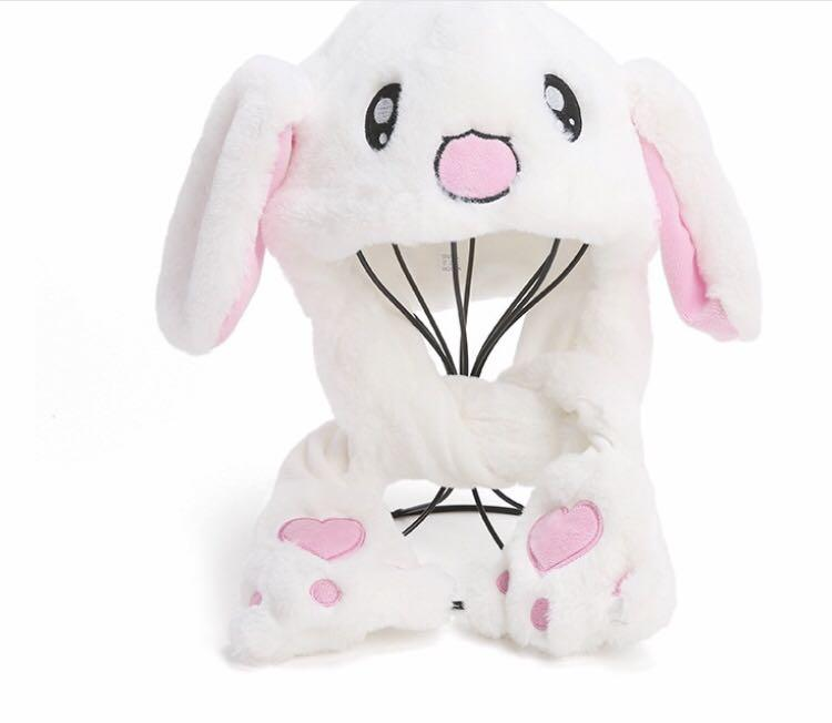 Bts同款會動的兔耳朵 閃燈款