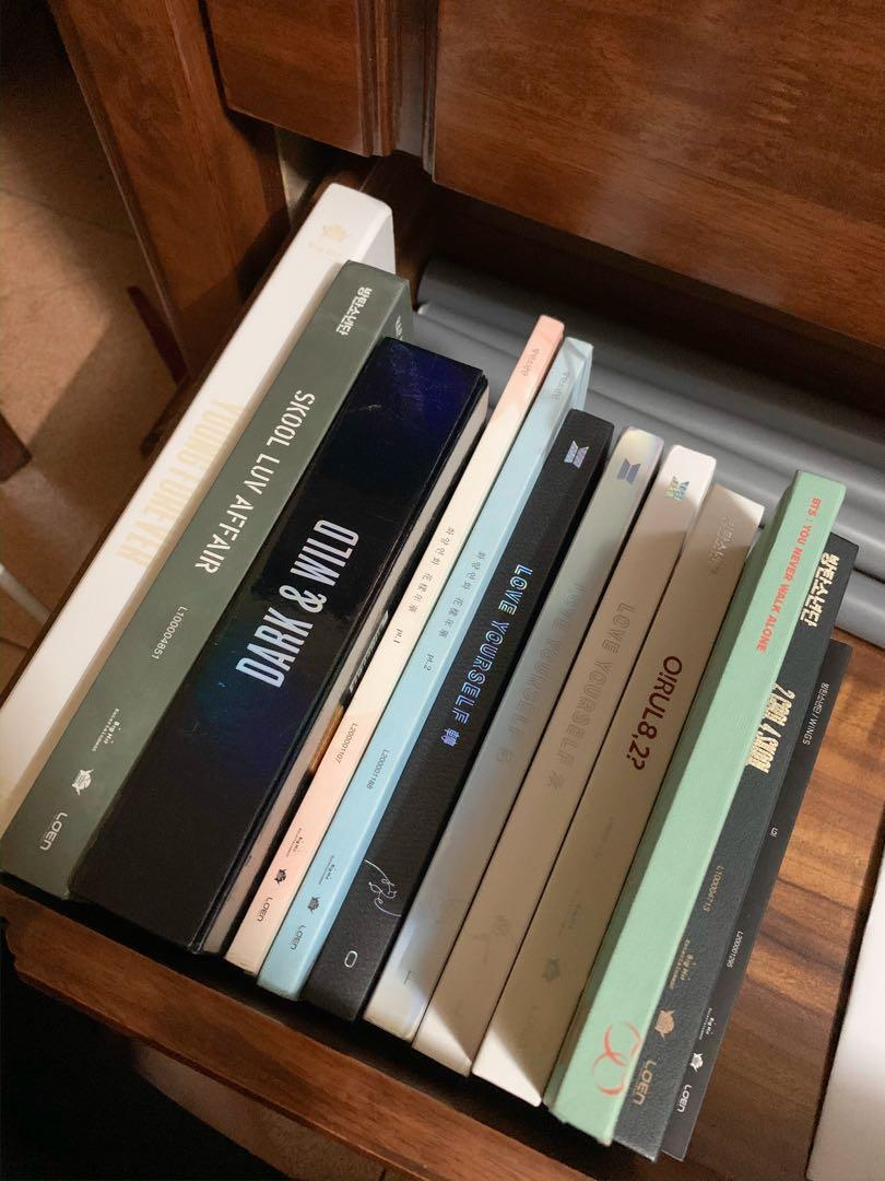 BTS Albums (Clearance)