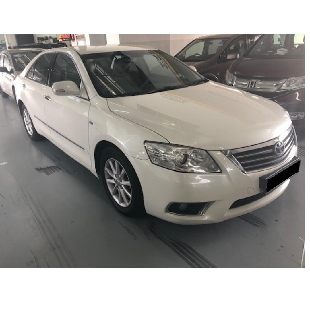 Camry with limo jobs* and rental rebate incentives