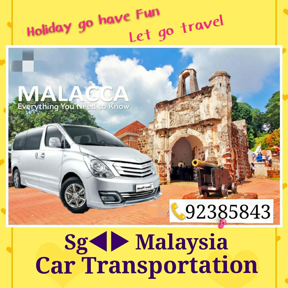 Car transportation from SG to Malaysia