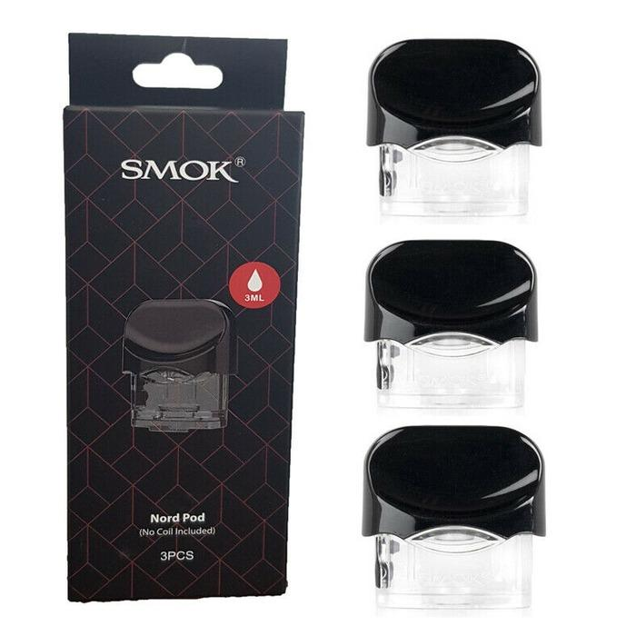 CARTRIDGE SMOK NORD AUTHENTIC - 1 PACK ISI 3 PCS