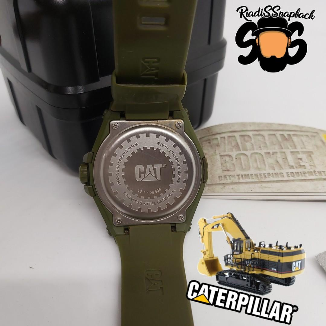 catterpillar watch analog jam tangan casio gshock fossil expedition