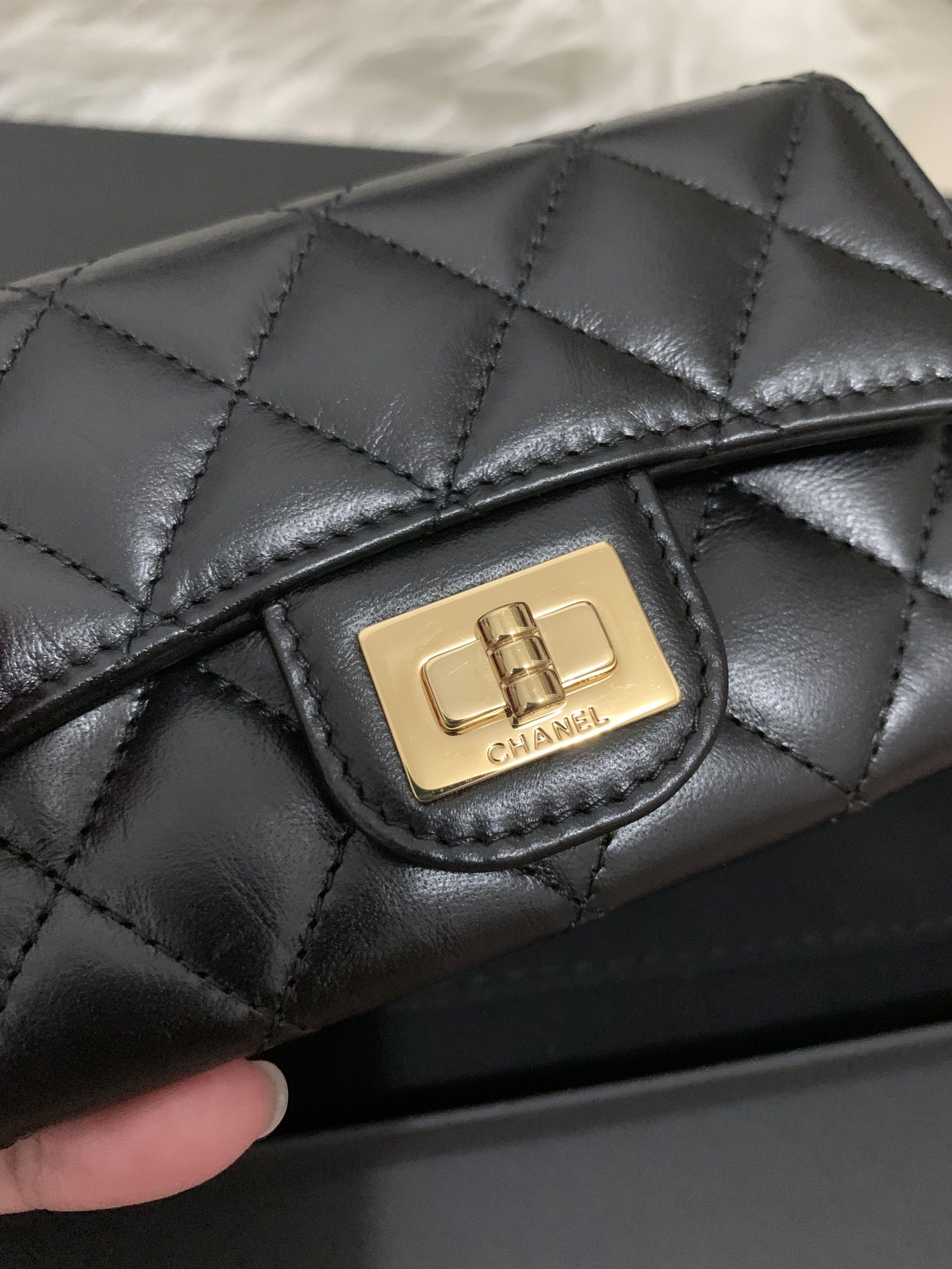 Chanel reissue Card holder / wallet